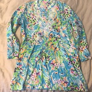 Lilly Pulitzer Tunic Size S